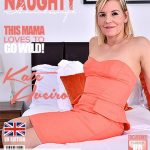 Mature.nl presents Kate Aveiro (EU) (39) in British housewife playing with her toy – 03.09.2018