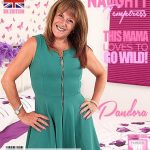 Mature.nl presents Pandora (EU) (57) in British lady playing with herself – 18.09.2018