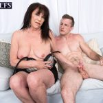 60PlusMilfs presents Christina Starr in Christinas first fuck video – 18.09.2018
