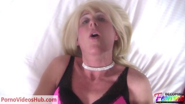 Watch Online Porn – BecomingFemme presents Shawnee Gold Blonde CD Goes Wild While Getting Fucked (MP4, FullHD, 1920×1080)