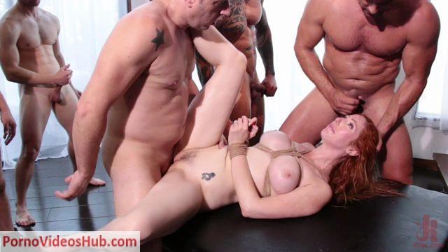 Watch Online Porn – BoundGangBangs presents Lauren Phillips Takes Six Dicks in Brutal Gangbang! – 05.09.2018 (MP4, HD, 1280×720)