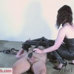 Femmefatalefilms – Miss Zoe – Leather Ass Smother Part 3