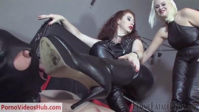 Watch Online Porn – Femmefatalefilms – Mistress Heather, Mistress Lady Renee – Brutal Boots Part 2 (MP4, HD, 1280×720)