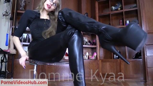 Watch Online Porn – Kyaaands Empire – A Bitch for My Thigh High Boots (MP4, FullHD, 1920×1080)