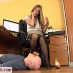 Mistress Nikki Whiplash – WL 1256 The Office Foot Perv