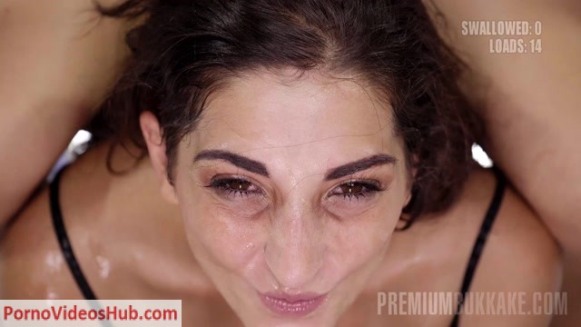 Watch Online Porn – PremiumBukkake presents Jimena Lago #2 in bukkake 2 (MP4, FullHD, 1920×1080)