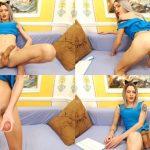 Chaturbate presents Sweetie Marilyn aka Newmarilyn in Russian Crossdresser Stroking Her Monstercock