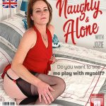 Mature.nl presents Jozie EU 39 – British kinky housewife playing in bed – 18.10.2018
