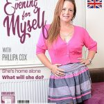 Mature.nl presents Phillipa Cox EU 43 – British mature housewife playing with her toy – 16.10.2018