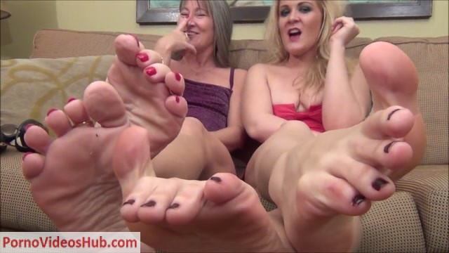 Watch Online Porn – Better In Pairs – Formal Feet JOI Games with Leilani and Whitney (MP4, HD, 1280×720)