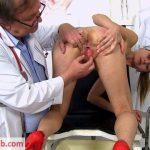 FreakyDoctor presents Luca Bella in 28 years girls gyno exam