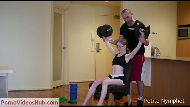 Watch Online Porn – ManyVids Webcams Video presents Girl Petite Nymphet in Working Out: Personal Trainer Roleplay (MP4, FullHD, 1920×1080)