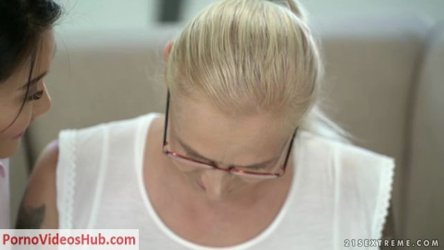 Watch Online Porn – OldYoungLesbianLove presents Violett, Katana in Schoolgirl Tutors Granny – 15.10.2018 (MP4, SD, 854×480)