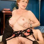 60PlusMilfs presents Valerie (69) in Taking It In, Then Pushing It Out!