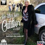 Mature.nl presents Amy (EU 56) in She takes tour outdoor with Amy – 17.11.2018