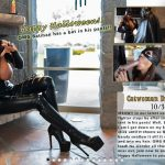 WifeysWorld presents Sandra Otterson in Catwoman Drains The Bat – 31.10.2018