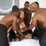 EvilAngel presents LISA ANN INTERRACIAL DP BBC GANGBANG – 30.11.2018