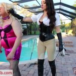 ClubDom presents Stella Liberty Slaps Her Bitch