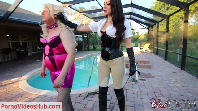 Watch Online Porn – ClubDom presents Stella Liberty Slaps Her Bitch (MP4, FullHD, 1920×1080)