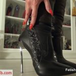 Fetish Liza – Worship My Casadei boots