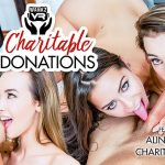 Wankzvr presents Alina Lopez, Charity Crawford in Charitable Donations – 02.11.2018