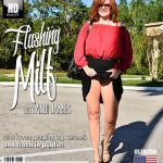 Mature.nl presents Andi James (53) – Andi is one naughty milf she even flashes in public – 30.11.2018