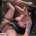 BrutalSessions presents Petite Pain Slut Violet Monroe in Rope Bondage and Brutal Anal Fucking – 19.12.2018