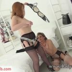 Lady-Sonia presents Lady Sonia in 2018.04.27 Sonia And Red With Layered Nylon