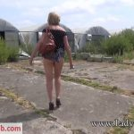 Lady-Sonia presents Lady Sonia in 2018.08.10 Up The Skirt View Outdoors