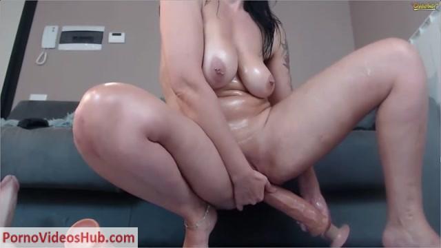Watch Online Porn – NaughtyElle's – Dildo-Fest (MP4, HD, 1366×768)