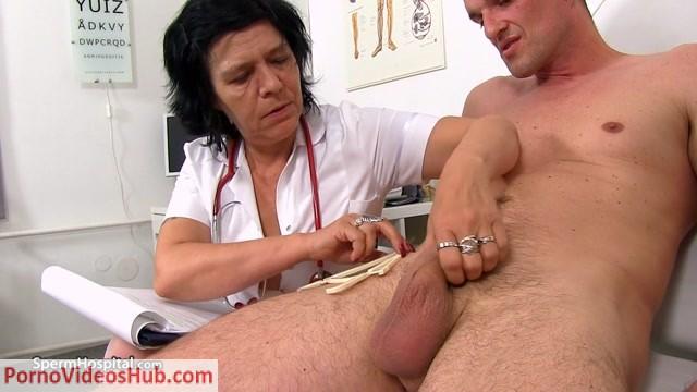 Watch Online Porn – SpermHospital – Huge cumshot for cougar doctor Flavia (MP4, HD, 1280×720)
