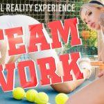 Vrbangers presents Nina Elle in Team Work – 07.12.2018