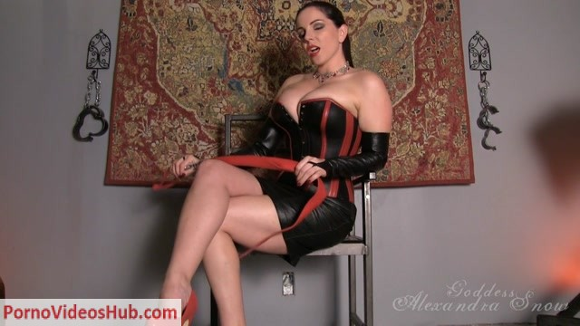 Watch Online Porn – Alexandra Snow – Mistress in Leather (MP4, HD, 1280×720)