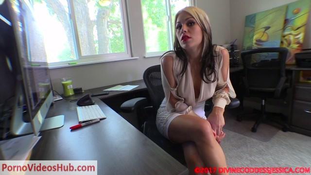 Watch Online Porn – Divine Goddess Jessica – Blackmailing My Foot Freak Boss (MP4, FullHD, 1920×1080)