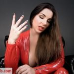 Goddess Alexandra Snow – Goddess in Red
