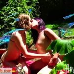ManyVids presents Holothewisewulf in the butterfly garden