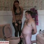 Bratprincess presents Amadahy in Loser Toilet Edged Frustrated and Denied