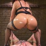 DivineBitches presents Lea Lexis in Oiled Ass Worship and Power Tools