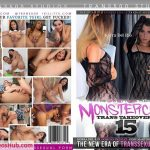 Trans500 presents Domino Presley, Korra Del Rio, Jessi Martinez & Andrea Juliana in Monstercock Trans Takeover 15