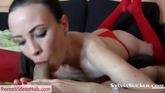 Watch Online Porn – Sylvia Chrystall in Intensive Sloppy Ball Licking POV Blowjob in Red Panty and Stockings….. with Milking Cock Execution at the Happy Ending of Course (Premium user request).mp4 (MP4, FullHD, 1920×1080)