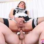 Becomingfemme presents Jeanne Mature Sissy French Maid Gets Fucked – 12.02.2019