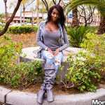 MomPov presents Leyona in Sexy little dark skin spinner MILF – 14.02.2019
