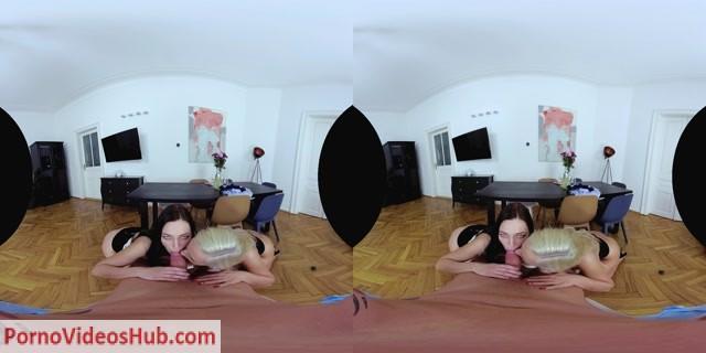 Watch Online Porn – CzechVR presents Kristy Black, Leanne Lace in Valentine Threesome (Czech VR 267) (MP4, UltraHD/2K, 2880×1440)