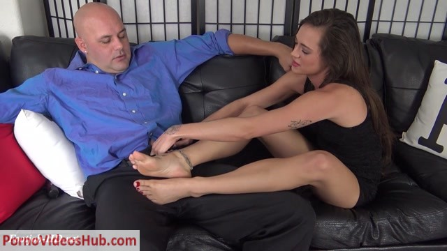 Watch Online Porn – Dacey Harlot's Footjob Audition – The Foot Fantasy!!! (MP4, FullHD, 1920×1080)