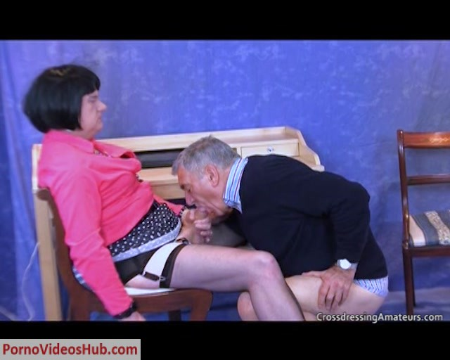 Watch Online Porn – CrossdressingAmateurs presents Kinky older fun (MP4, SD, 720×576)