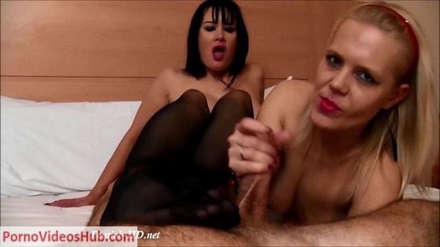Watch Online Porn – Double Footjob – Stans Stocking Sluts (MP4, FullHD, 1920×1080)