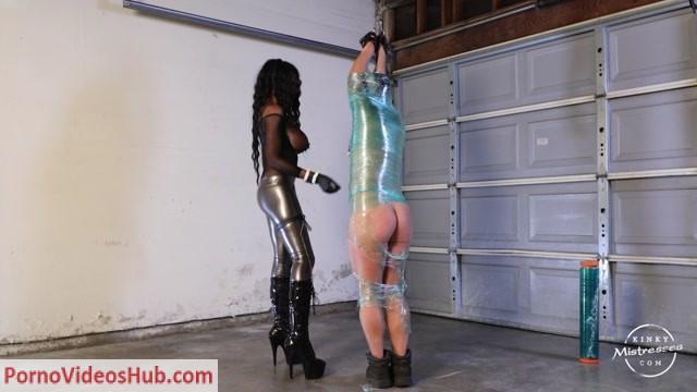 Watch Free Porno Online – KinkyMistresses – Mistress Adina – Punished In Plastic Wrap (MP4, HD, 1280×720)