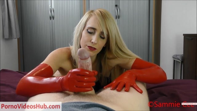 Watch Online Porn – ManyVids presents Sammie Cee in Red Long Latex Gloves Handjob And BJ (Premium user request) (MP4, FullHD, 1920×1080)