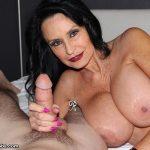 Over40Handjobs presents Rita Daniels in Fantastic Fan Milking
