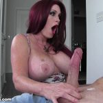 Over40Handjobs presents Sherry Stunns in Step Mom Made me Cum